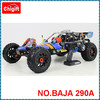 Hot sell factory price Rovan 29cc 1:5 Scale Gas Powerd Hobby cars RC Baja 5b RTR