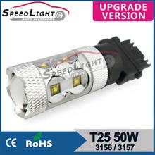 china supplier 7740 1156 3156 T10 T20 CREE chip car led bulbs