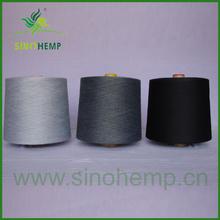 Wholesale natural colored silk and hemp interwoven yarns