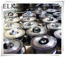Top quality single bridge crane wheel manufacturer