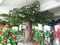 artificial de árboles de vestuario en tela