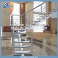 Balaustrada de la barra de interior o al aire libre anti- moho pasamanos de acero inoxidable pasamanos de la escalera