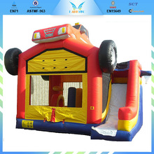 Attractive Durable Fire Truck Inflatable Bounce House