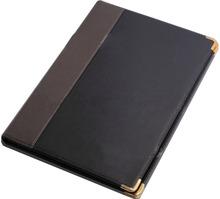 a4 folder portfolio from professional factory / pu leather folder portfolio with calculator holder / special meeting folder