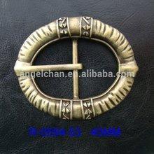 2014 hot selling fashion rhinestone buckle women's metal belt buckle