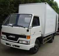 4x2 diesel jmc light fiberglass box truck for sale