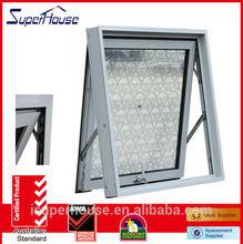 Euro type latest style wind resistance aluminium awning window