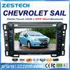ZESTECH Wholesale indash 2 din hd touch screen gps car autoradio gps for Chevrolet Sail auto parts