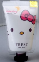 Effective 50ML Face Care hello kitty whitening cream with sunscreen protection
