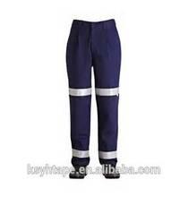 Haute visibilité de sécurité réfléchissant bande pantalons de travail