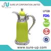 environmental arabian jug clear glass honey pot (JGDG)
