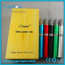 New dry herb chamber vaporizer pen clover Deluxe V5 510 dry herb vaporizer Deluxe V5 kit