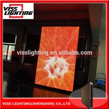 super lightness and slim led screen rental P4