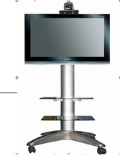 tv stand for advertisement