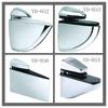 Hot sale zinc alloy adjustable glass shelf bracket from glass shelf manufacturer