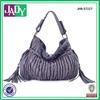 Personalized fringe tassels quilted tote bag fashion shoulder bag women model wholesale