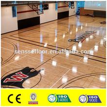 Speedy Installation First Class Vinyl sports floor for basketball