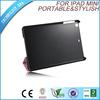 "9.7"" cheap and portable PU leather Rotating Smart Case for iPad mini"