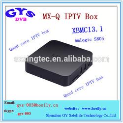 Amlogic S805 Android 4.4 1GB/8GB quad-core Amlogic S805 tv box MXQ quad-core iptv box