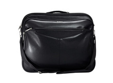 PVC Stylish Briefcase Black X0008S140006