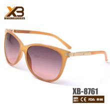 Orange slim fashion sunglasses