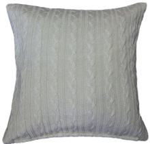 decorative wholesale turkish knitted pillow case