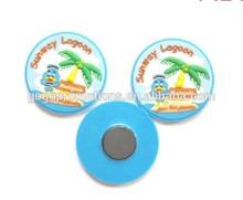 Salable 3d polyresin personalized pvc resin tourist souvenir custom fridge magnet wholesale