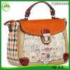 new product China supplier fashion flower printing PU Custom Order women bag