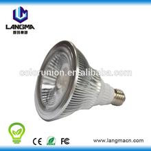 e27 base led par38 light full color led par lights