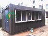 Portable Container kiosk / retail section / outdoor kiosk portable