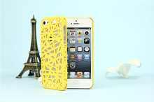 light weight plastic bird nest cell phone case for ipnone 5c