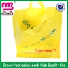 Superior quality promotional shopping plastic hard handle bags