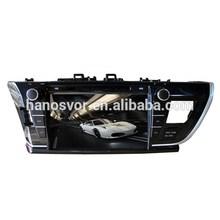 NEW!!! 9inch TOYOTA COROLLA 2014 car dvd plyer gps navigation multimedia system
