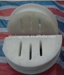 100% Virgin Raw Material UHMW-PE Clear Plastic Nylon Block