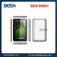 High level wifi hdmi bluetooth 512M 9 inch 8G 800x480 super hd player android tablet pc