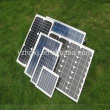 50w high efficiency light weight low price per watt solar panels
