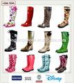 Fabricant de cowboy en caoutchouc bottes de pluie femmes imperméable à l'eau