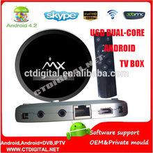 u6d XBMC Installed Android 4.2.2 Dual Core AML8726-MX Smart TV Box 1GB RAM 8GB ROM Google MX TV Box EMX amlogic u6d