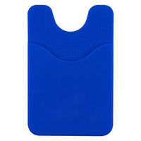 mobile phone back 3m silicone holder pouch