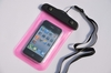 pvc fashional watertightness bag for iphone 4 with string
