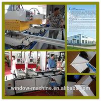 PVC window frame assembly machine / PVC window fabricatiion line