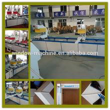PVC window two head welding machine of window machine / PVC Plastic window welding equipment