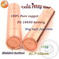 La mejor calidad mecánica mod teslas m5 mecánica mod vaporizador e- cigarrillos pinza mod penny mocasines