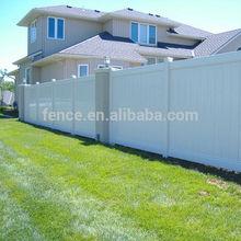 cheap Vinyl plastic yard guard fencing