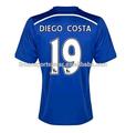Aceptar paypal 2014/15 temporada chelsea soccer jersey #19 diego costa #4 fabregas uniforme de fútbol chelsea calidad de tailandia