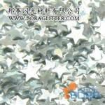 Silver Rainbow Glitter Powder Hexagonal Tetragon polygon