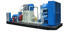 gas booster compressor unit