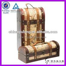 Custom Bottle Leather Wine Carrier for Packing