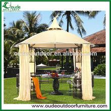 outdoor luxury gazebo with canopy