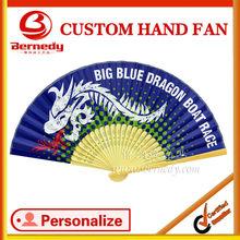 Customise handmade paper fan for promotional gift